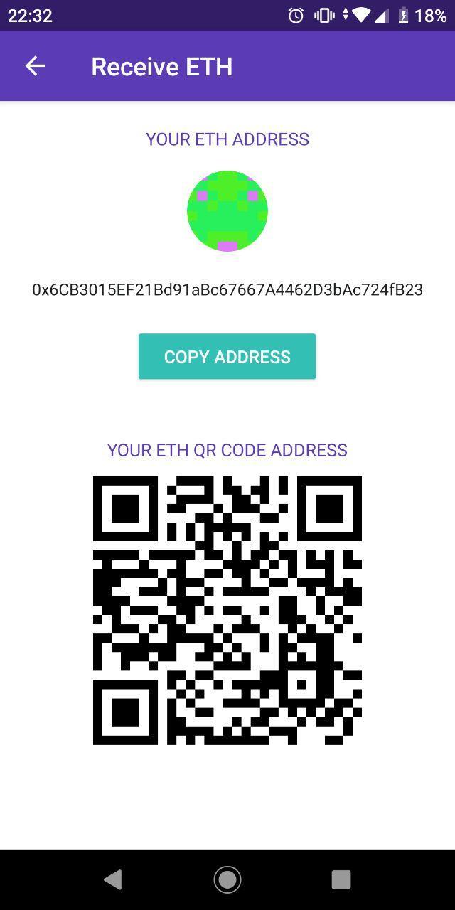Enjin My Address